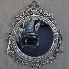 DCO20 - Oglinda clasica baroc argintie 95cm x 75cm - Oglinda living