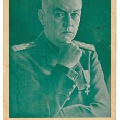 956 - Maresalul ION ANTONESCU - old postcard - unused - very RARE - Carte postala tematica, Necirculata, Printata