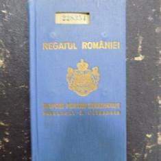 Ioan Margineanu, Directorul Ministerului Educatiei Nationale, Pasaport Carol II
