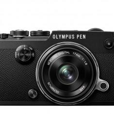 Olympus PEN-F 1718 Kit blk/blk / PEN-F black + EW-M1718 black - Aparat Foto Mirrorless Olympus