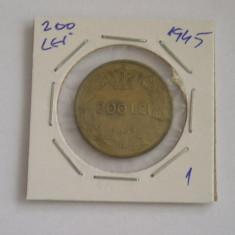 CMR1 - 200 LEI EMISA IN ANUL 1945 - PIESA DE COLECTIE - Moneda Romania