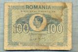 A1229 BANCNOTA-ROMANIA- 100 LEI- 1945 -SERIA FS -starea care se vede