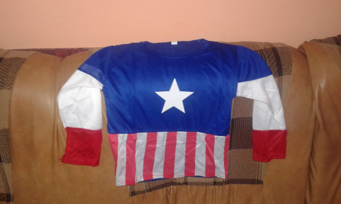 Costum Capitan America  4-6 ani