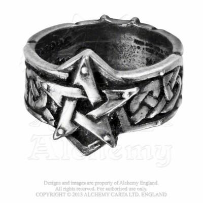 Inel ritualic celtic (Marime inele: W) foto