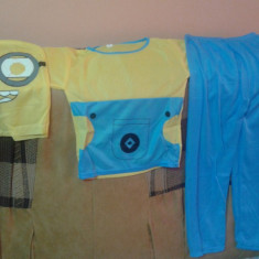 Costum Minion 3-9 ani