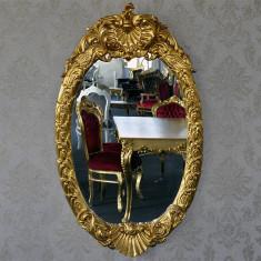 DCO13 - Oglinda clasica baroc aurie 130cm x 75cm - Oglinda living