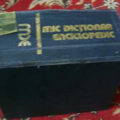MIC DICTIONAR ENCICLOPEDIC, Casa