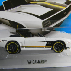 Macheta auto - HOT WHEELS - CHEVROLET CAMARO '69, 1:64