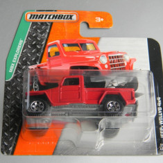 Macheta auto - MatchBox - JEEP WILLYS 4x4