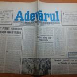 Ziarul adevarul 15 mai 1990 -miting pt partidul national taranesc
