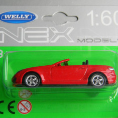 Macheta auto Alta - WELLY DIE CAST - MERCEDES SLK 350, 1:60