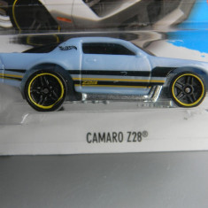 Macheta auto - HOT WHEELS - CHEVROLET CAMARO Z28, 1:64