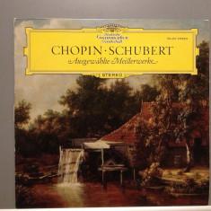 CHOPIN/SCHUBERT - MASTERWORKS (1965/DEUTSCHE GRAMMOPHON/RFG)- Vinil/Impecabil - Muzica Clasica universal records
