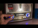 Radio retro KEMAI, 0-40 W