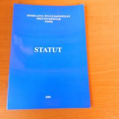 Statutul cadrului didactic, Sindicatul Invatamantului Preuniversitar, Timis, Alta editura
