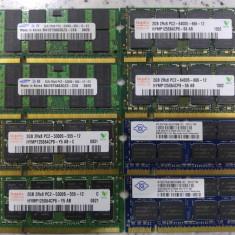Memorie laptop 4Gb kit 2 x 2 Gb ddr2 667Mhz - Memorie RAM laptop Samsung, Dual channel