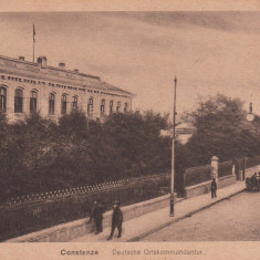 CONSTANTA, COMANDAMENTUL GERMAN 1918 - Carte Postala Dobrogea dupa 1918, Necirculata, Printata