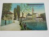 ORADEA-MARE - PARCUL EMINESC - CENZURATA IN RELIEF - 1919 - NECIRCULATA, Fotografie