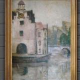 Tablou ulei - Pictor roman, Peisaje, Realism