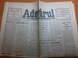 ziarul adevarul 9 mai 1990 -113 ani de la cucerirea independentei de la 1877