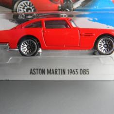 Macheta auto - HOT WHEELS - ASTON MARTIN 1963 D85, 1:64