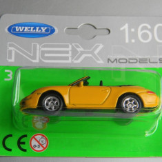 Macheta auto Alta - WELLY DIE CAST - PORSCHE 911, 1:60