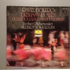 RAVEL/DEBUSSY - BOLERO/LA MER (1979/DEUTSCHE GRAMMOPHON/RFG) - Vinil/Impecabil - Muzica Clasica universal records