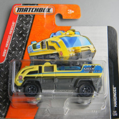 Macheta auto - MatchBox - Utilaje de salvare - HARDNOZE