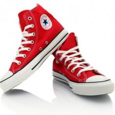Gheata Converse All star - Tenisi barbati Converse, Marime: 36, 37, 38, 39, 40, 41, 42, 43, 44, Culoare: Rosu, Textil