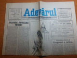 """Ziarul adevarul 22 iulie 1990-articolul """" specula """""""