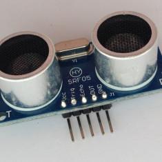 Senzor ultrasonic HY-SRF05 asemanator cu HC-SR04 Arduino