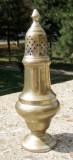 Solnita veche alama  E.P.N.S. a fost argintata 21 cm inaltime, Vase