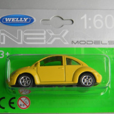Macheta auto Alta - WELLY DIE CAST - VW NEW BEETLE, 1:60