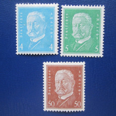 TIMBRE GERMANIA=1932=SET==MNH, Nestampilat