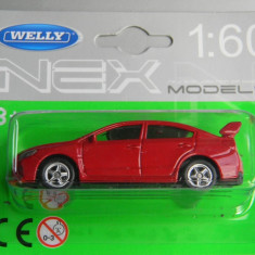 Macheta auto Alta - WELLY DIE CAST - SUBARU WRX ST1, 1:60