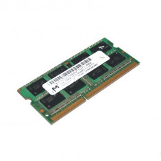 Memorie laptop 2GB Micron PC3 5800S DDR3 SODIMM 1066MHz MHz MT16JSF25664HZ-1G1F1