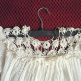 Ie rustica din panza veche de bumbac tesuta pe razboi - Costum populare, Marime: L/XL, Culoare: Din imagine
