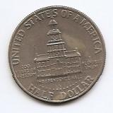 Statele Unite (SUA) Half Dolar 1976 (Bicentennial) , LV1 , 30.61 mm KM-205