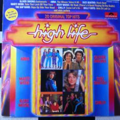 High Life 20 Original Top Hits disc vinyl lp muzica pop rock disco 1980 polydor, VINIL