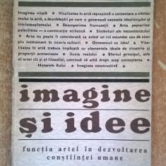 Herbert Read - Imagine si idee
