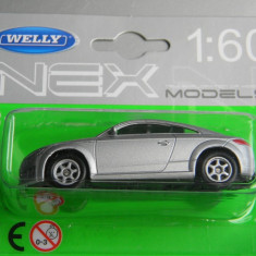 Macheta auto Alta - WELLY DIE CAST - AUDI TT COUPE, 1:60