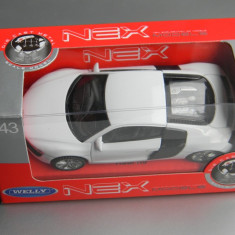 Macheta auto Alta - WELLY - AUDI R8, 1:43