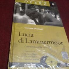 DVD DVD GAETANO DONIZETTI - LUCIA DI LAMMERMOOR 2 DVD - Muzica Opera Altele