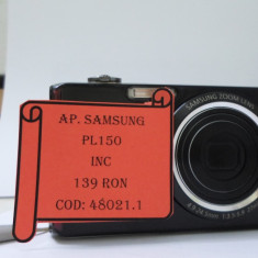 APARAT FOTO SAMSUNG PL 150(LCT) - Aparat Foto compact Samsung, Compact, 12 Mpx, 5x, 3.0 inch