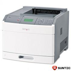 Lot de 100 Imprimante Laser Monocrom Lexmark T654dn 30G0302 + tava suplimentara bonus (cartus 36000 pagini), ambalaj original - Imprimanta laser alb negru