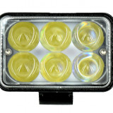 Proiector LED 18W Spoot Beam 4D, 12/24V, Universal