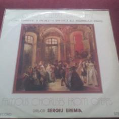 DISC VINIL CORUL BARBATESC SI ORCHESTRA SIMFONICA A ARMATEI - Muzica Opera