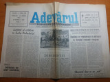 ziarul adevarul 25 aprilie 1990-miting in piata universitatii