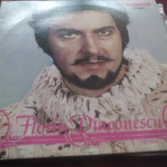 DISC VINIL FLORIN DIACONESCU - Muzica Opera