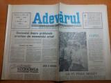 """Ziarul adevarul 1 iunie 1990 - articolul """" seizbul politic al strazii'"""